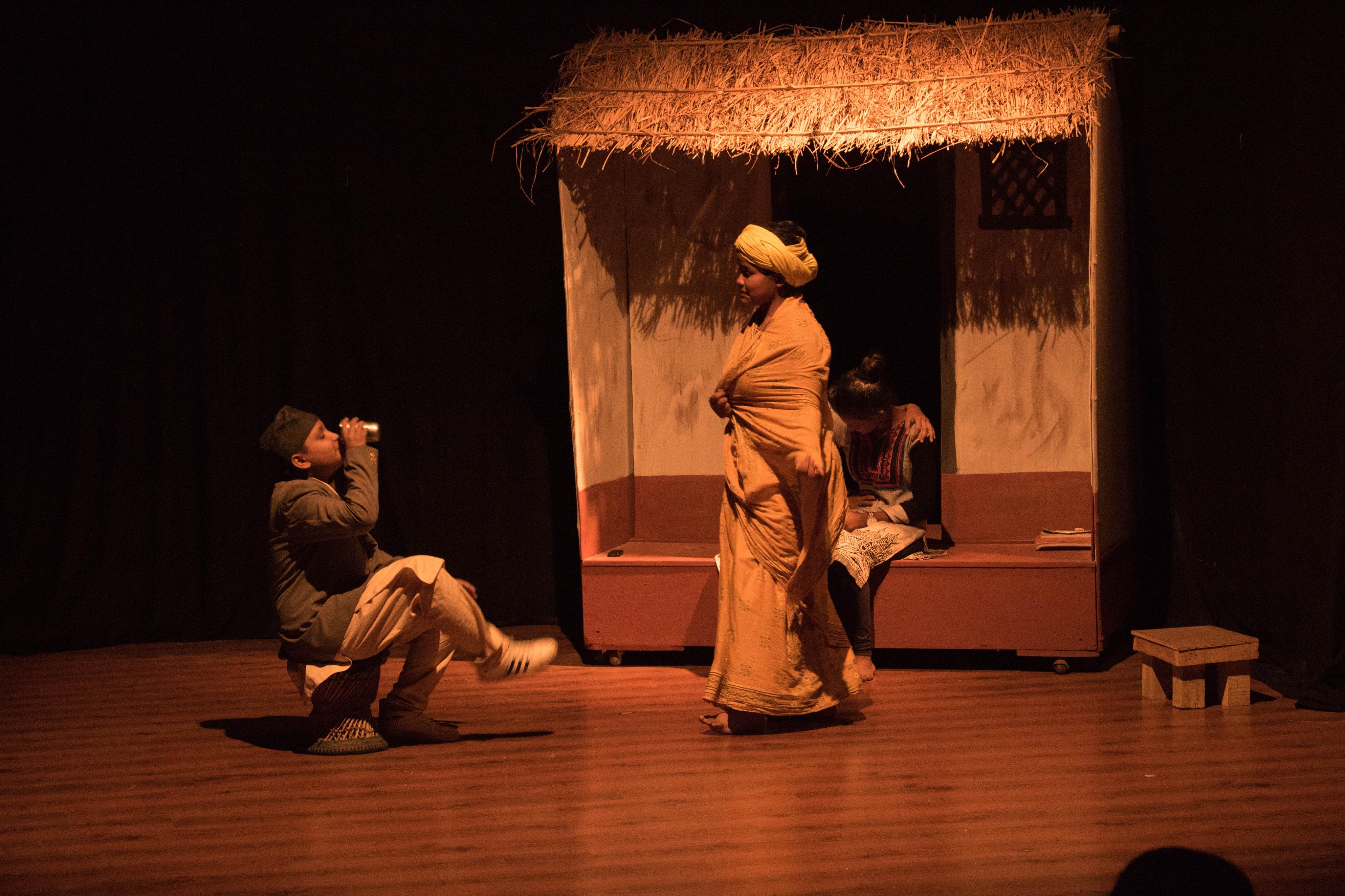 विद्यालय नाटक महोत्सवमा 'छाउपडी' को कथा