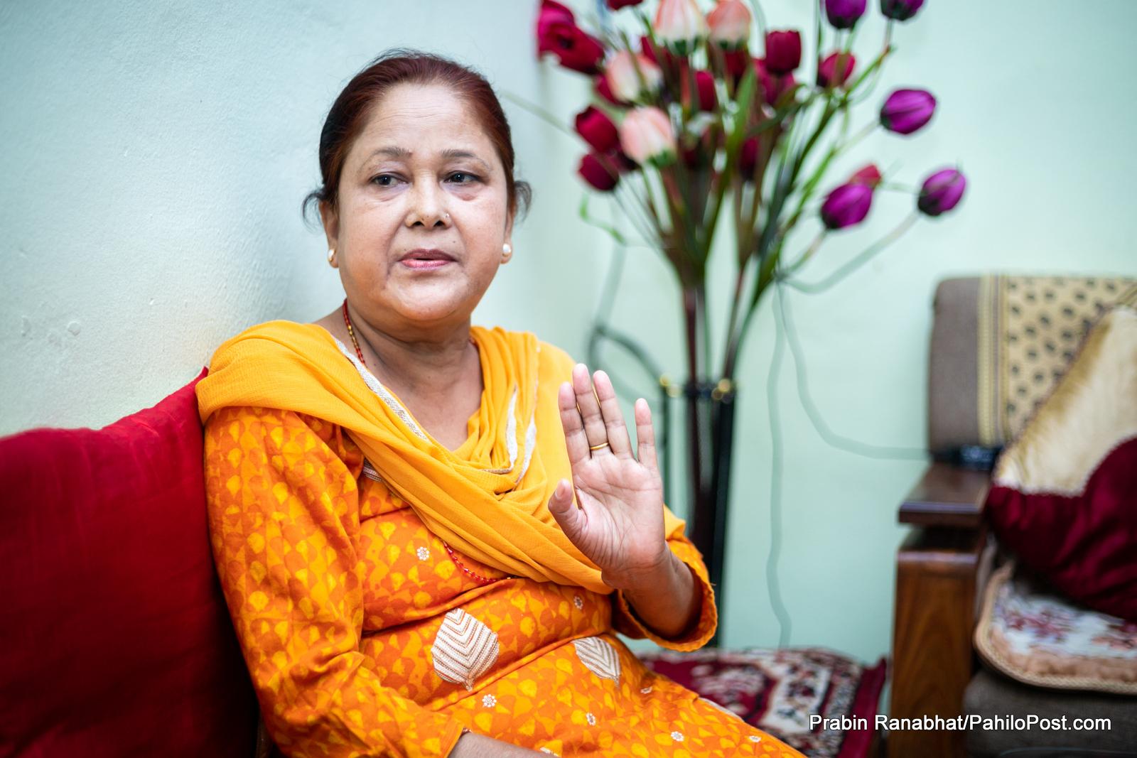 नेकपा सांसद एवं जनवादी गायिका सानु सिवाको निधन