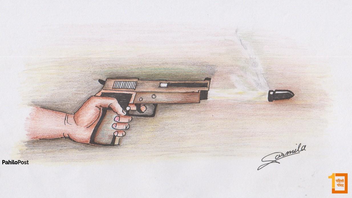 भोजपुरमा प्रहरी र विप्लव कार्यकर्ताबीच गोली हानाहान, एक प्रहरीसहित दुई जनाको मृत्यु