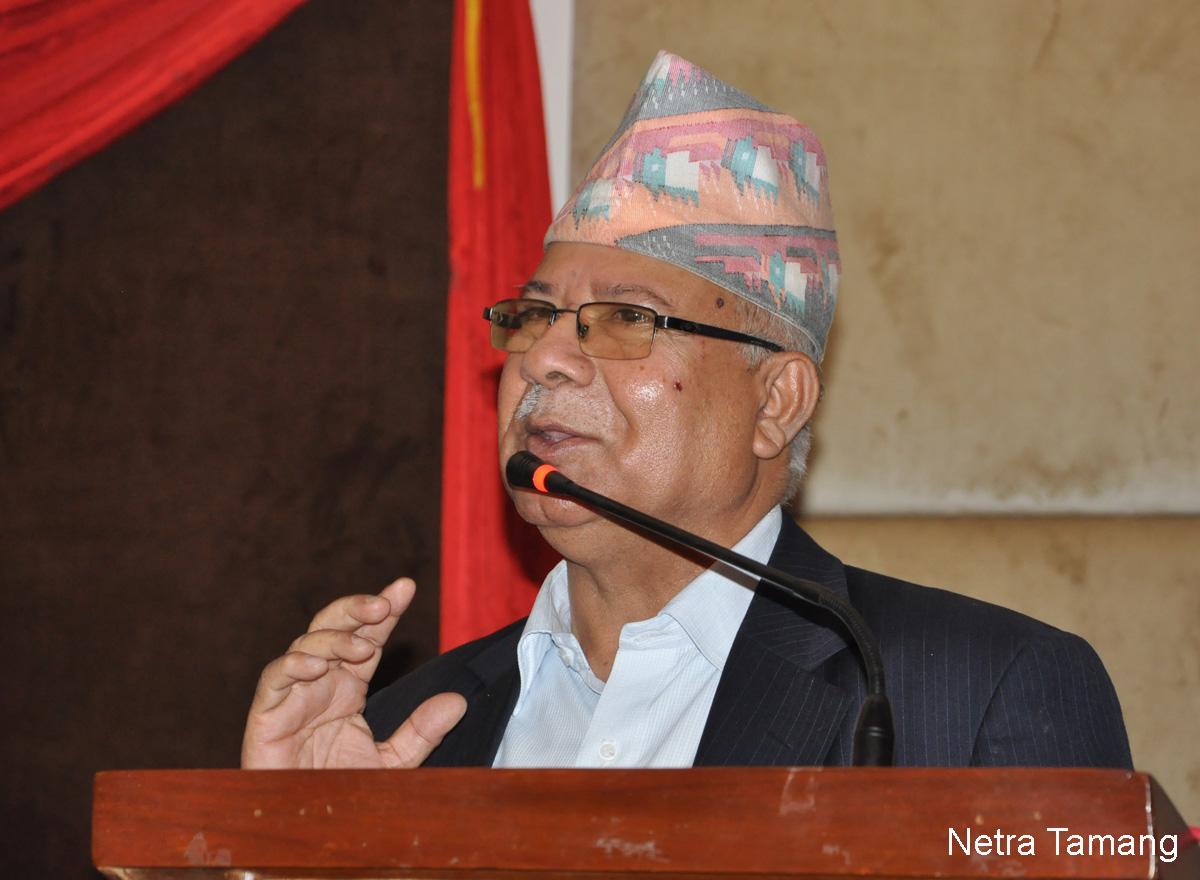 नेकपाको नेतृत्वमा दाबी गर्ने वा नगर्ने पिरलो म'मा छैनः माधव नेपाल [अन्तर्वार्ता]